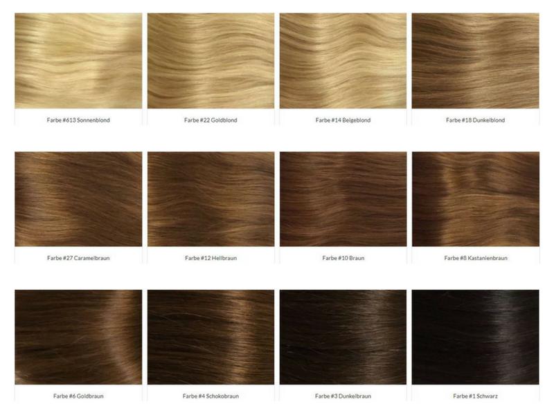 Clip In Extensions Gewellt Hairprincess